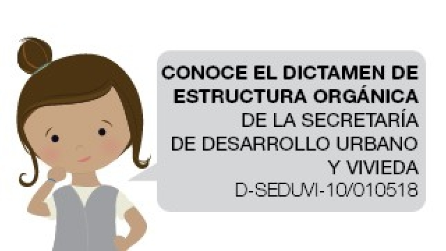 Dictamen de Estructura Orgánica-SEDUVI