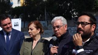 Inician trabajos GCDMX y alcaldía de Miguel Hidalgo para la construcción de parque en Lago Alberto 320